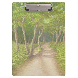 Path Through Trees, Leith Hill, Surrey Clipboard