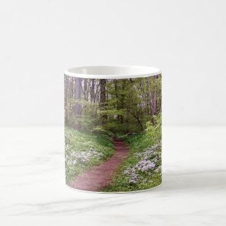 Path Through Wildflowers Coffee Mug