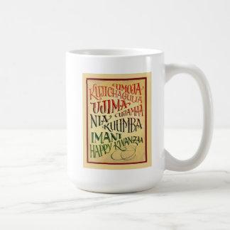 Path To A Happy Life Kwanzaa Mug