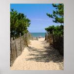 Path to Beach Print