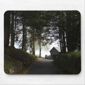 Path to boathouse restaurant in Fort Augustus Mouse Pads