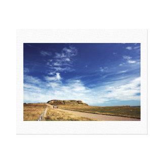 Path to Hengistbury Head Canvas Print