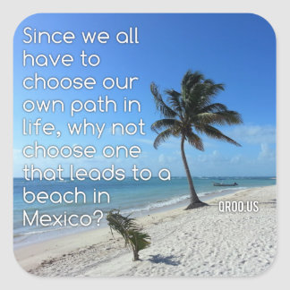 Path to Mexico Stickers (6 Pack)