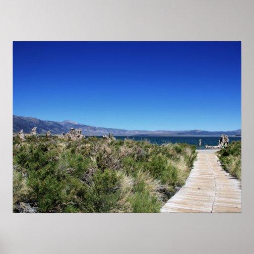 Path to Mono Lake Posters