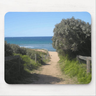 Path to palm beach mouse mat