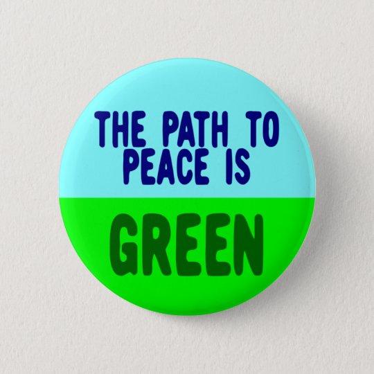 PATH TO PEACE 6 CM ROUND BADGE