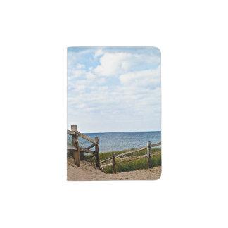 Path to the beach passport holder
