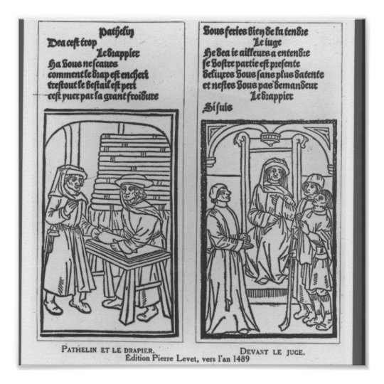 Pathelin and the Draper and Pathelin Poster