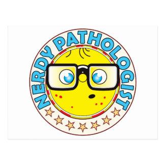 Pathologist Nerdy Postcard
