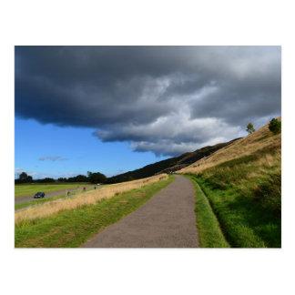 Pathway at Arthur's Seat Postcard