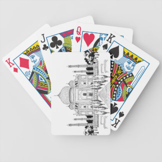 Pathway by Taj Mahal Bicycle Playing Cards