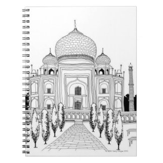 Pathway by Taj Mahal Notebooks