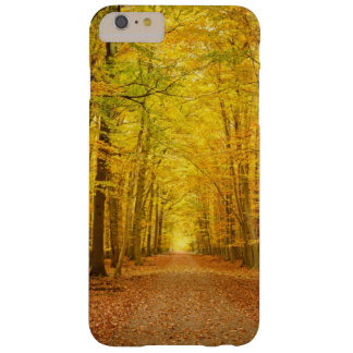 Pathway in the autumn forest barely there iPhone 6 plus case