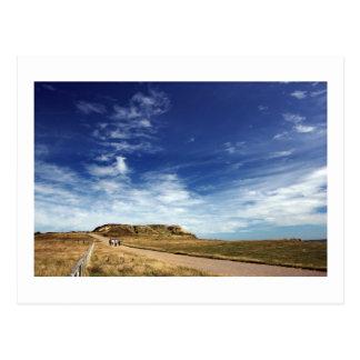 Pathway to Hengistbury Head Postcard