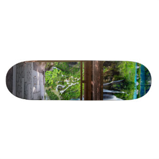Pathway to Paradise Custom Skateboard