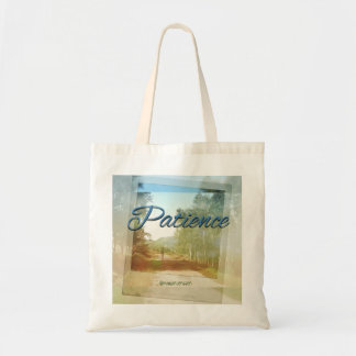 Patience Budget Tote Bag