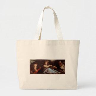 Patience by Giorgio Vasari Jumbo Tote Bag