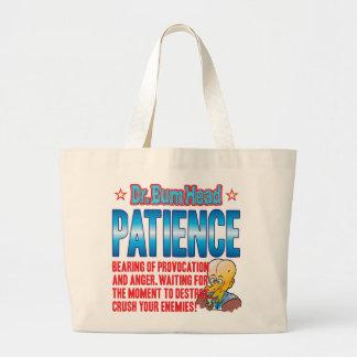 PATIENCE Dr Bum Head Bag