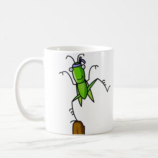 Patience Grasshopper Balance Mug