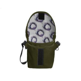 Patience in Purple Enso Messenger Bag