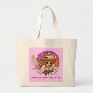 """Patience"" Inspirational Angel Bag"