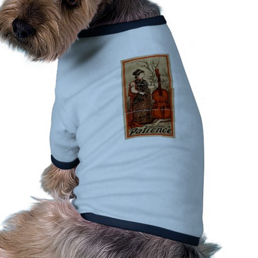 Patience, 'Ladyelane' Retro Theater Pet Tshirt