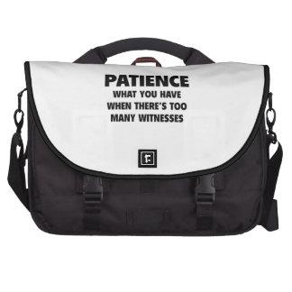 Patience Laptop Bags