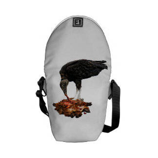 Patience Pays... Scavenger Eating Road Kill! Courier Bag