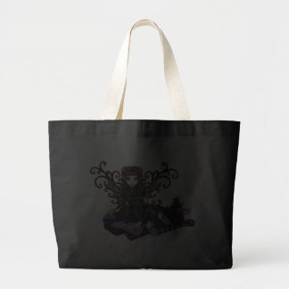 """""""Patience"""" Reading Victorian Faery Tote Bags"""