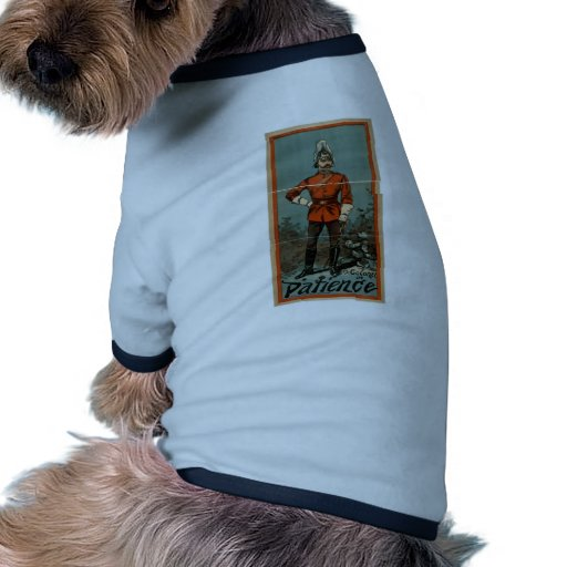 Patience, 'The Colonel' Vintage Theater Dog Tee Shirt