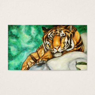 Patience (Tiger) Business Cards