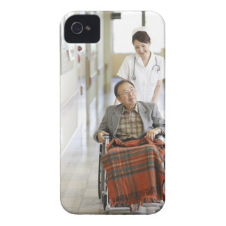 Patient and nurse iPhone 4 cover