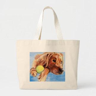 Patient Pooch Tote Bag