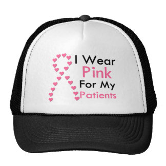 Patients Pink Ribbon Breast Cancer Trucker Hat