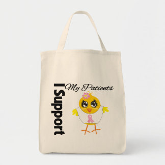 Patients Support Breast Cancer Canvas Bag