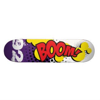 Patineta BOOM COMIC EFECT Custom Skate Board