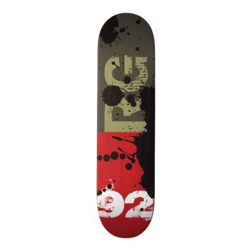 Patineta NETWORK BLACK INK Skateboards