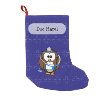pating Doc owl - Christmas sock