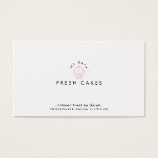 Patisserie  & Cake Shop Minimal Business Card
