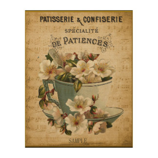 Patisserie & Confiserie French Paris  Cafe Cup Art
