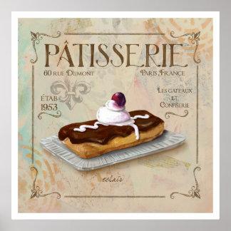 Patisserie III  Poster Art