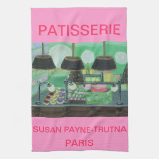 PATISSERIE PARIS TEA TOWEL