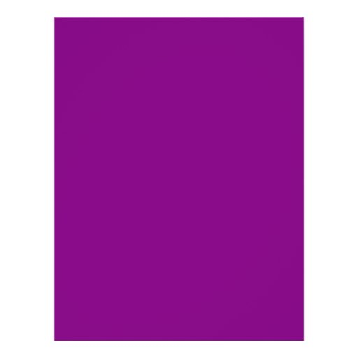 Patriarch Purple Classic Colored Personalized Flyer