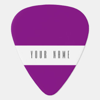 Patriarch Purple Classic Colored Plectrum