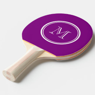 Patriarch Purple High End Colored Ping Pong Paddle