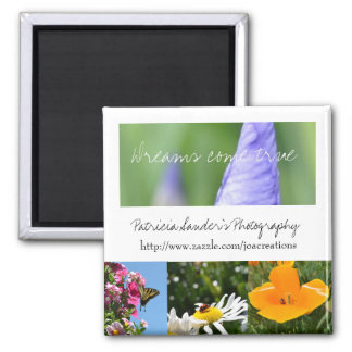 Patricia Sander's Photography Square Magnet