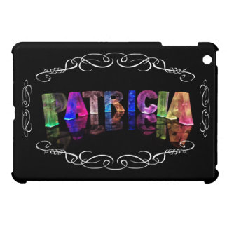 Patricia  - The Name Patricia in 3D Lights (Photog iPad Mini Cases