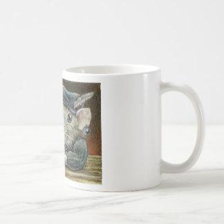 Patricia the rat basic white mug