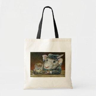 Patricia the rat tote bag