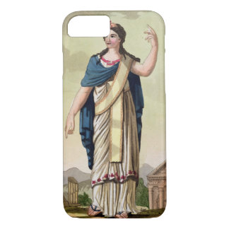 Patrician Woman, No. 26 from 'Antique Rome', engra iPhone 8/7 Case